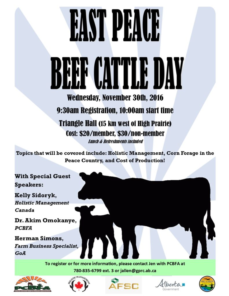 east-peace-beef-cattle-day-poster
